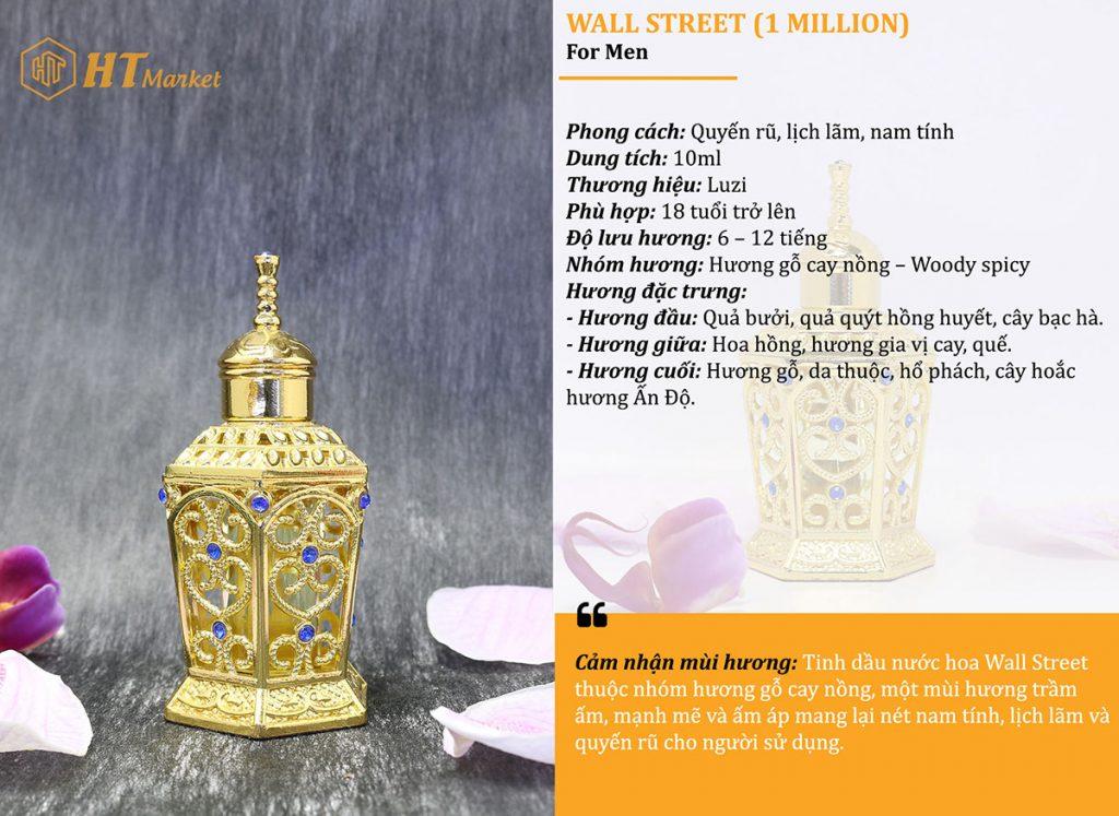 Tinh dầu nước hoa dubai One Million