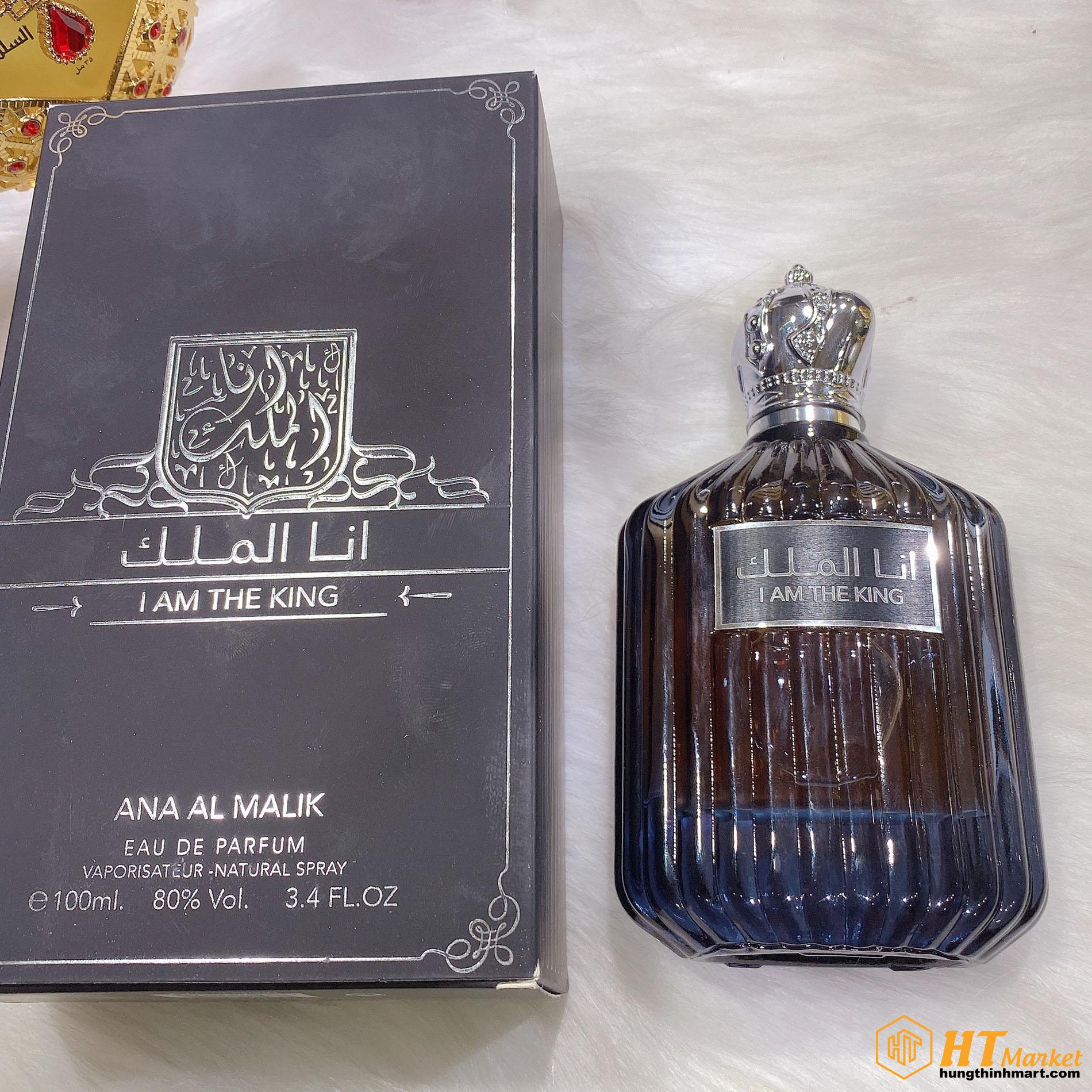 Nước hoa Dubai nam tính sang trọng I Am The King (Ana Al M