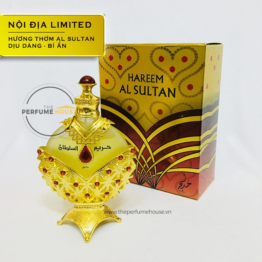 Tinh dầu nước hoa Dubai Harrem Red The Perfume House