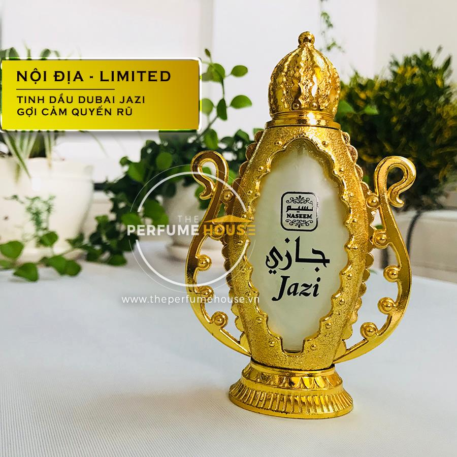 Nước Hoa Dubai Tinh Dầu Jazi Naseem 20ml Nữ Ngọt Ngào Nữ Tính The Perfume House