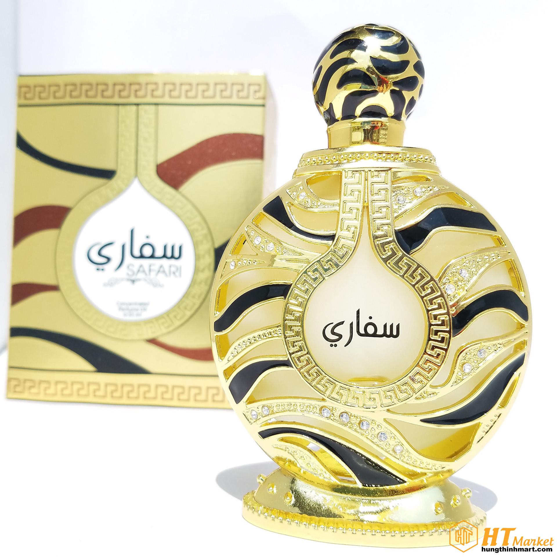 Tinh dầu nước hoa DuBai chính hãng Safari 35ml The Perfume House