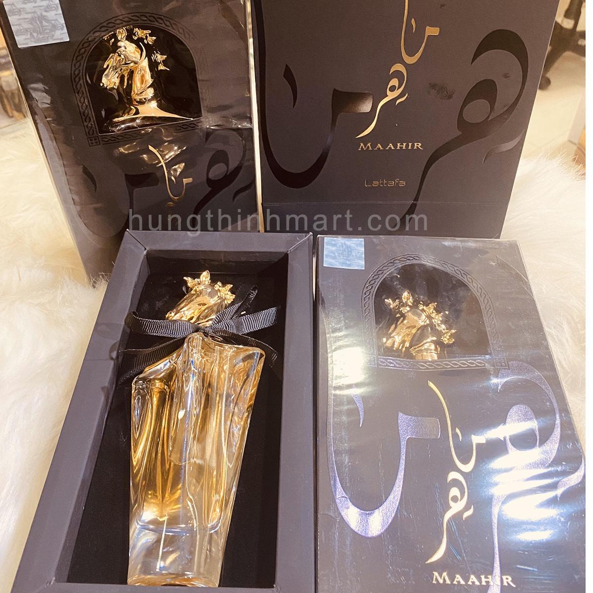 Nước hoa Dubai Maahir thơm dai