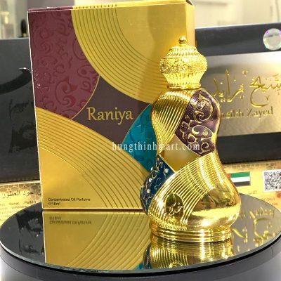 tinh dầu nước hoa Dubai Raniya sang trọng
