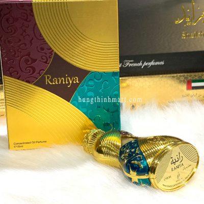 Tinh dầu nước hoa Dubai Raniya cá tính